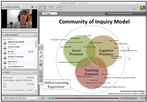 Screenshot of Webinar